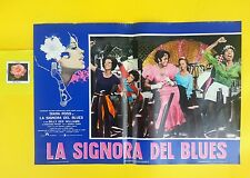 F 305 LA SIGNORA DEL BLUES ( LADY SINGS THE BLUES), 1° EDIZIONE 1973