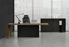 [neu.haus] Executive Desk + 2 Filing Cabinets Furniture Office