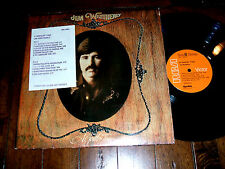 Jim Weatherly - A Gentler Time 1973 1st press DJ PROMO LP EX+ loner country folk