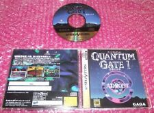 Quantum Gate I 1 SEGA SATURN NTSC IMPORT JAP