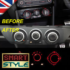 SmartStyle Aluminium Heater Dash Knobs Buttons for VW Polo MK4/MK5 9N 9N3 6R etc