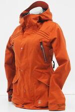 Volcom Womens SMALL Winter Waterproof Ski Snowboard Powder Skirt Hooded Jacket