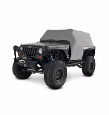 SmittyBilt Water-Resistant Cab Cover for 07-16 Jeep JK Wrangler 2 Door, 1068