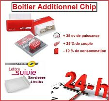 BOITIER ADDITIONNEL CHIP BOX PUCE OBD2 DIESEL SAAB 9-3 1.9 1L9 TiD 120 / 150 CV