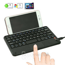 Wireless Bluetooth 3.0 Keyboard w/ Touchpad for 7-8 inch Android Windows Tablet