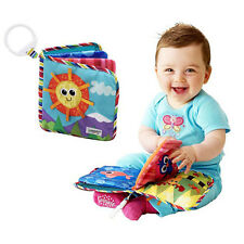 Baby Soft Cloth Book Baby Early Learn Education Development Quiet Book