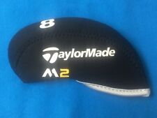 TaylorMade M2 Neoprene Golf Iron Head Covers 10pc Set M2 Black 4-LW *USA SELLER*