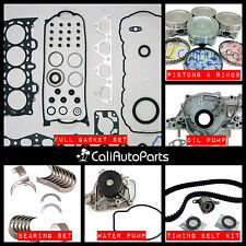 FITS: 96-00 HONDA CIVIC 1.6L D16Y D16Y7 D16Y8 SOHC MASTER ENGINE REBUILD KIT