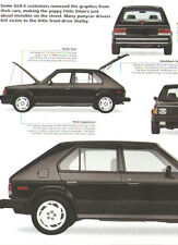 1986 Dodge Omni Shelby GLH-S Article - Must See! - Goes Like Hell Shelby