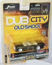 Jada Oldskool - 1963 LINCOLN CONTINENTAL convertible - black/graph. - 1:64 #032
