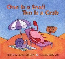 One Is a Snail, Ten Is a Crab : A Counting by Feet Book-ExLibrary