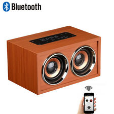 Mini Bluetooth Portable Wireless Speaker USB 3D Dual Loudspeaker Surround NEW