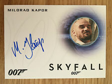 James Bond Archives 2014 Autograph Card Milorad Kapor as Henchman A257