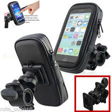 Waterproof Motorcycle Bike Bicycle Phone ≤5.5'' Case Bag Handlebar Mount Holder