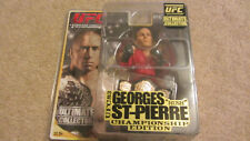 GEORGES ST PIERRE GSP ROUND 5 ULTIMATE COLLECTOR UFC 83 CHAMP. EDITION FIGURE
