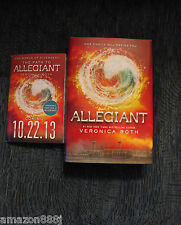 SIGNED IN PERSON Divergent: Allegiant 3 2013 HC 1ST/1ST + XTRAS + PICS