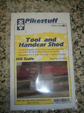 RIX Products Pikestuff HO Scale Tool & Handcar Shed #541-0006 Bob The Train Guy