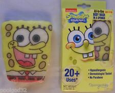 Sponge bob Kids Scented Gel Body Wash infused Sponge 20 + bath washes Spongebeb