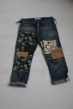 Junya Watanabe Comme des Garcons Patchwork jeans sold out rare XS