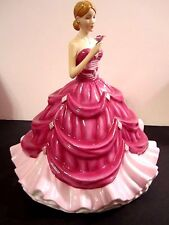 Royal Doulton Pretty Ladies Diamond and Brooch Figurine HN 5804 Limited Ed 800