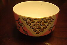 E.J.D. BODLEY (Staffordshire, UK) - c1870s - 1880s bowl decorated in pink & gold