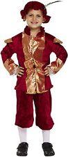 Jungen Tudor Prince Kostüm Mittelalterlich Buch Woche Tag Outfit 10-12 Jahre