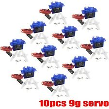 10pcs RC 9g Servo Micro for align trex RC Helicopter Airplane Foamy Plane Car B