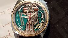 BULOVA ACCUTRON SPACEVIEW 1965 214 Asymmetric Watch Alpha white hands Classic