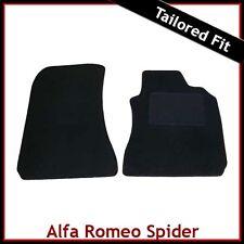 ALFA ROMEO SPIDER 916 1995-2006 TAPPETI SU MISURA Tappetini Auto Nero