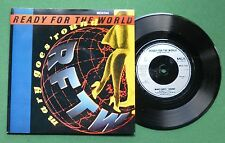 "Ready For The World Mary Goes 'Round / It's All A Game MCA1144 7"" Single"
