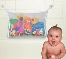 Kids Baby Bath Tub Toy Bag Hanging Organizer Storage Bag Large 45 x 35cm 1pcs