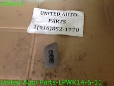 00 2000 01 2001 INFINITI I30 FRONT LEFT DRIVERS SIDE DOOR MEMORY SEAT SWITCH