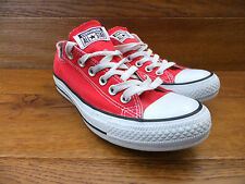 Converse CT All Stars Red Canvas Trainers Plimsolls Size UK 5 EUR 37.5