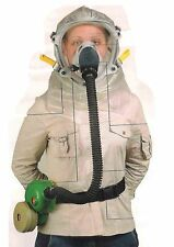 Gas Mask Protective Hood Kit With Blower New Sealed Box 2008 Israel IDF Adult