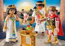 PLAYMOBIL 5394  CLEOPATRA Y MARCO ANTONIO, EGIPTO, ROMANOS,. BELEN