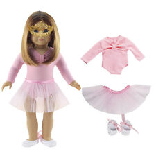 "Handgefertigt Rosa Doll Kleider Ballet Kleid  Fits for 18"" American Girl Dolls"