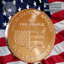We the People Enduring Freedom 1 oz .999 Copper Round