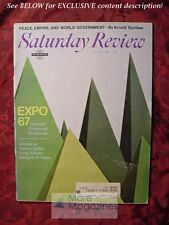 Saturday Review April 29 1967 MONTREAL EXPO 67 ARNOLD TOYNBEE BURT KORALL