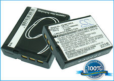 3.7V battery for Casio NP-130, NP-130A, Exilim EX-ZR1000BK, Exilim EX-ZR300WE