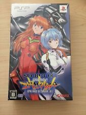 New PSP Secret of Evangelion Portable Limited Version Japan import