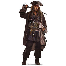 CAPT JACK SPARROW Pirates of the Caribbean CARDBOARD CUTOUT Standup Standee PotC