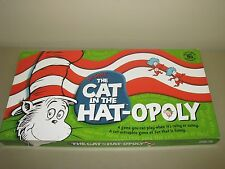 Dr. Seuss' The Cat in the Hat-opoly Monopoly COMPLETE 2003