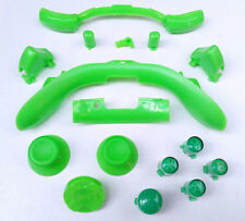 GREEN Custom Xbox 360 Controller Parts - ABXY Guide Thumbsticks DPad Buttons UK