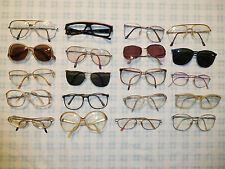Lot 20 Vintage Oversize Geek Nerd Horn Rim Eyeglasses Sunglasses Frame 80s 90s 3