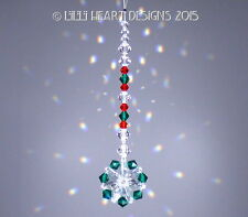 m/w Swarovski Christmas Suncatcher Car Charm Mini Mandala #1 Lilli Heart Designs