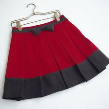 Ank Rouge 109 Wool School Uniform Style Ribbon Skirt Sweet Lolita Kawaii Japan