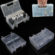 Portable Hard Plastic AA AAA C Battery Healthy Case Storage Box Holder Organiser