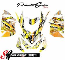 SKI-DOO XP MXZ SNOWMOBILE SLED WRAP GRAPHICS STICKER DECAL KIT 2008-2013 xp0011