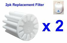 2pk Replacement Filter Element Bathroom In-Line Shower Head Water Softener