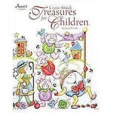 Cross-Stitch Treasures for Children, Elliott, Joan, New Books